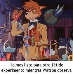 Sherlock Holmes, la serie - Experimentos malolientes