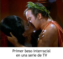 Star Trek, la serie original - El beso de Kirk y Uhura