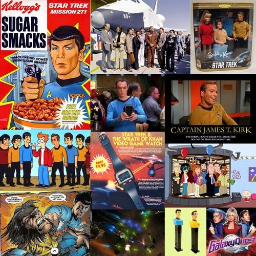 Star Trek, la serie original - Collage