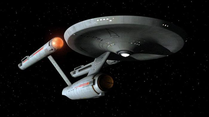 Star Trek, la serie original - El Enterprise