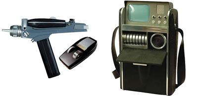 Star Trek, la serie original - Phaser y tricorder