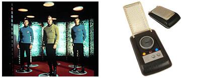 Star Trek, la serie original - Transportador y comunicador