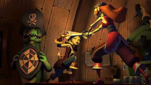 Tales of Monkey Island IV - Pelea de gatas