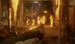 Nueva York bajo el terror de los zombies - Fuego en el hospital