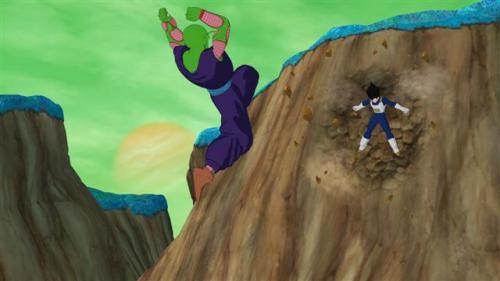 Dragon Ball Raging Blast - Vegeta empotrado