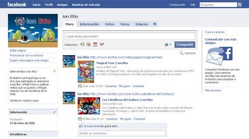 ionlitio - Grupo de Facebook
