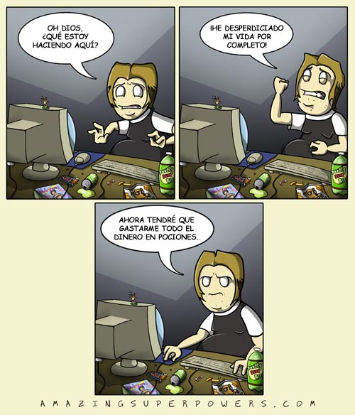 MMORPG - Vida desperdiciada completo
