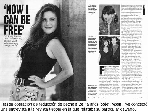 Punky Brewster - Entrevista en la revista People