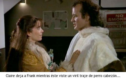 Los fantasmas atacan al jefe - Claire deja a Frank