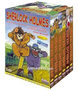 Sherlock Holmes, la serie - Pack DVD