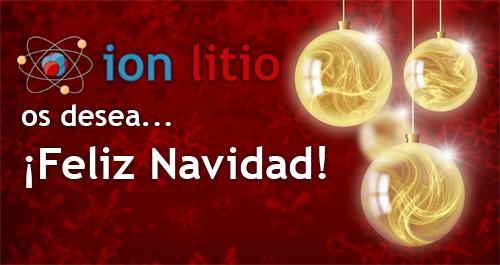 ion litio - Navidad 2010