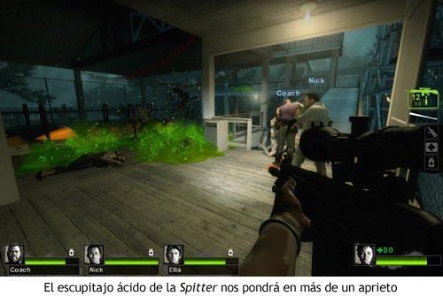Left 4 Dead 2 - Escupitajo de Spitter