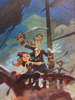 Tales of Monkey Island (V) - Póster de Steve Purcell