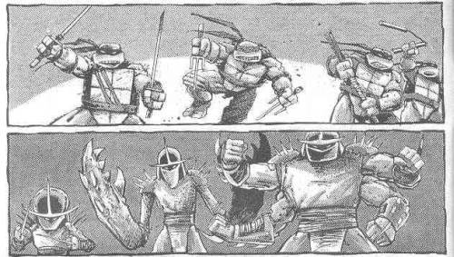 Las Tortugas Ninja de Eastman y Laird - Regreso a Nueva York - Falsos Shredder