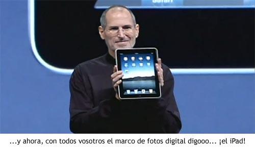 iPad - Steve Jobs revela el nuevo producto de Apple
