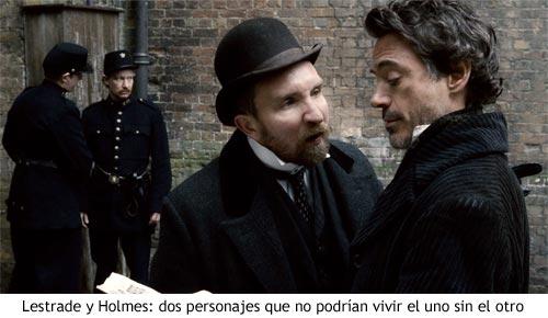 Sherlock Holmes - Inspector Lestrade