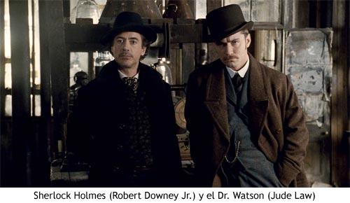 Sherlock Holmes - Protagonistas