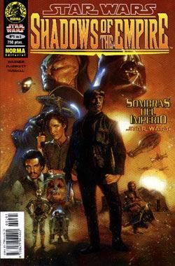 Star Wars - Sombras del Imperio - Portada del cómic