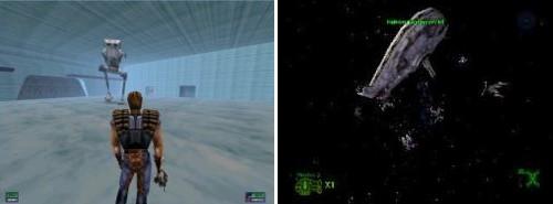 Star Wars - Sombras del Imperio - Base Echo y batalla espacial