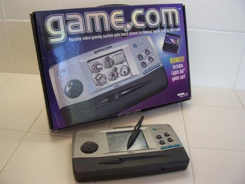 Tiger Game.com - Caja y consola
