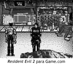 Tiger Game.com - Resident Evil 2