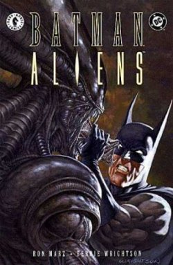 Batman Aliens - Portada