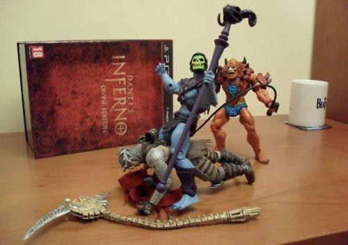 Dantes Inferno - Skeletor, Beastman y Dante
