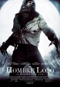 El Hombre Lobo (2010) - Cartel