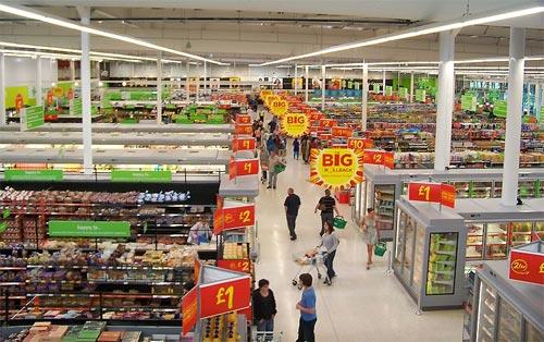 Supermercado - Interior