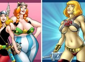 Personajes de cómic cambiados de sexo