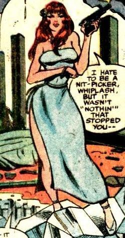 Iron Man - El demonio en la botella - Beth despampanante