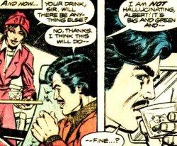 Iron Man - El demonio en la botella - Martini en vuelo