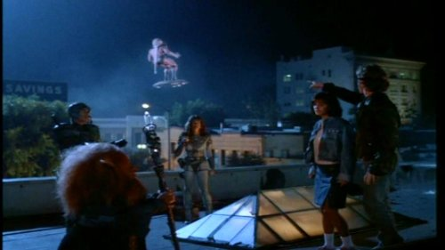 Masters del Universo, la película - He-Man en disco volador