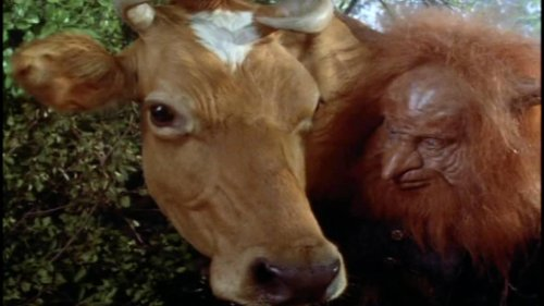 Masters del Universo, la película - Vaca y Gwildor