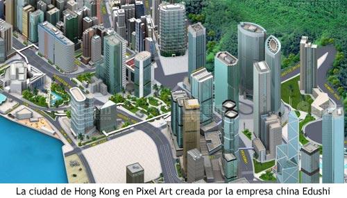 Pixel Art - Hong Kong