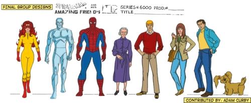 Spider-Man y sus sorprendentes amigos - Personajes