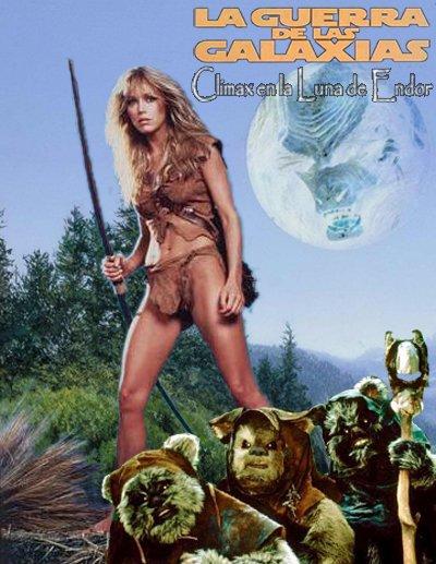 Star Wars - La aventura de los ewoks - Clímax en la Luna de Endor