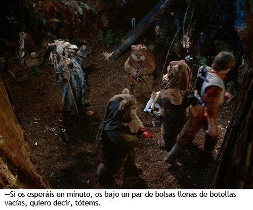 Star Wars - La aventura de los ewoks - Logray