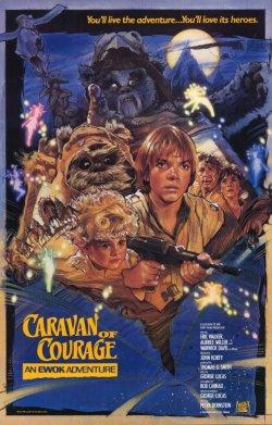 Star Wars - La aventura de los ewoks - Póster