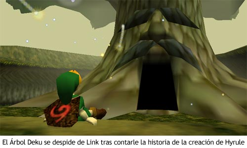 Zelda Ocarina of Time - Árbol Deku