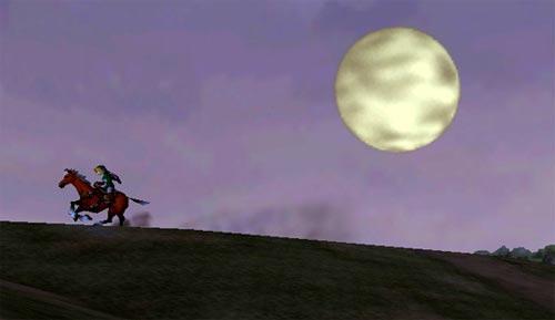 Zelda Ocarina of Time - Cabalgando al anochecer