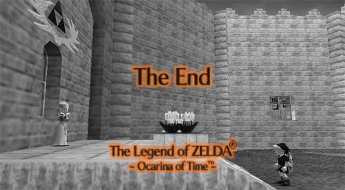 Zelda Ocarina of Time - Fin