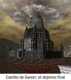 Zelda Ocarina of Time - El castillo de Ganon