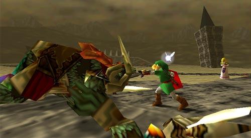 Zelda Ocarina of Time - Muerte de Ganon