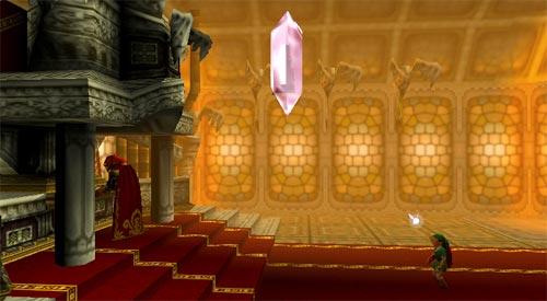Zelda Ocarina of Time - Ganon tocando el órgano