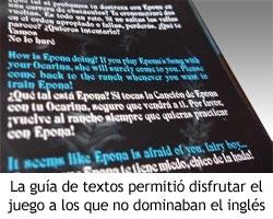 Zelda Ocarina of Time - Guía de Textos