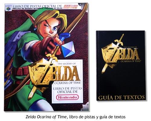Zelda Ocarina of Time - Guía de pistas y Guía de textos