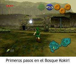 Zelda Ocarina of Time - Primeros pasos en el Bosque Kokiri