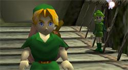 Zelda Ocarina of Time - Despedida de Link y Saria