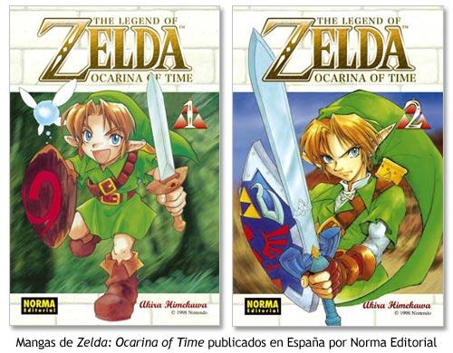 Zelda Ocarina of Time - Manga de Akira Himekawa